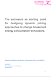 Dynamic pricing and behaviour change